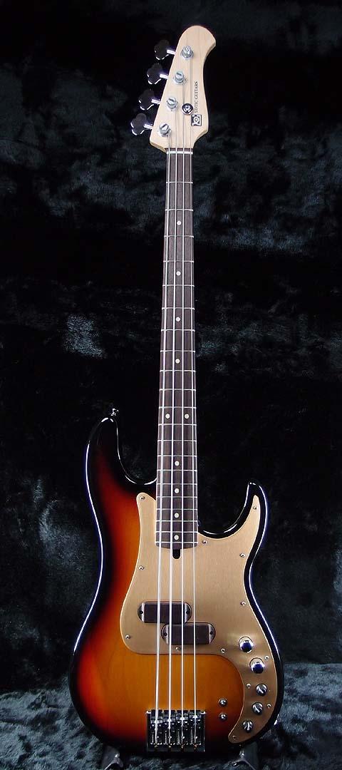XOTiC XP-1T -3Tone Burst- 新品[エキゾチック][国産][サンバースト][Precision Bass,プレシジョンベース,プレベ,PB][Electric Guitar,エレキギター]
