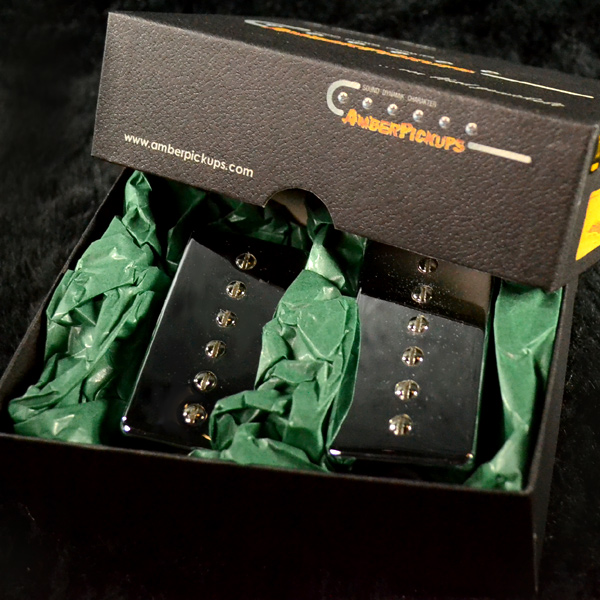 Amber Pickups 94 Classic Closed Chorme エレキギター用ピックアップ[アンバーピックアップ][P-90,P90][Single Coil Pickup,シングルコイル][クローム]