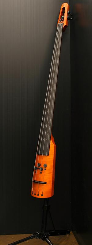 NS DESIGN CR4M-DB -Amber-[NSデザイン][アップライトベース][Natural,アンバー,ナチュラル,木目][Electric Bass,エレキベース]