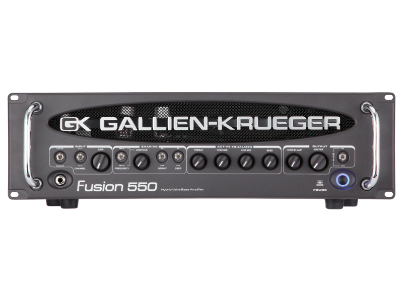 GALLIEN-KRUEGER Fusion 550 新品[ギャリエンクルーガー][RBシリーズ][真空管搭載][Bass Amplifier Head,ベースアンプヘッド]