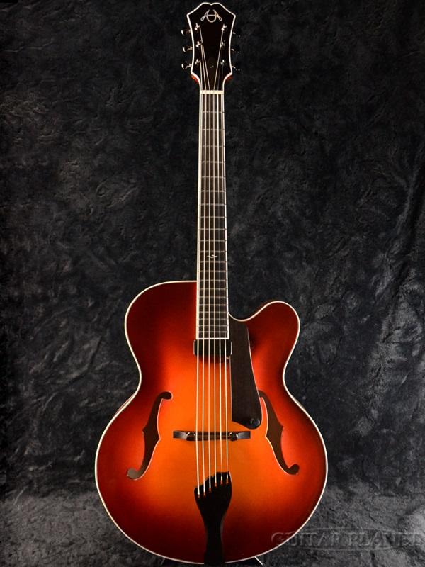 【当店オーダー品】American Archtop Legend Custom Violin Finish Build by Dale Unger 新品[アメリカンアーチトップ][レジェンド][フルアコ][バイオリンフィニッシュ,Sunburst,サンバースト][Electric Guitar,エレキギター]