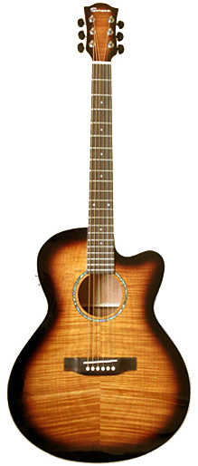 Serena SN-2GM CE VTS 新品[セレナ][Sunburst,サンバースト][Acoustic Guitar,エレアコ,アコギ,アコースティックギター,Folk Guitar,フォークギター]
