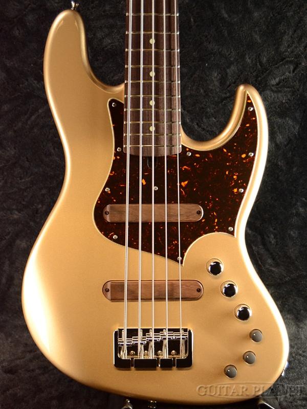 XOTiC XJ-1T 5st Lightweight Ash -Electrum Gold- 新品[エキゾチック][5strings,5弦][エレクトラムゴールド,金][JB,ジャズベースタイプ][Electric Bass,エレキベース]
