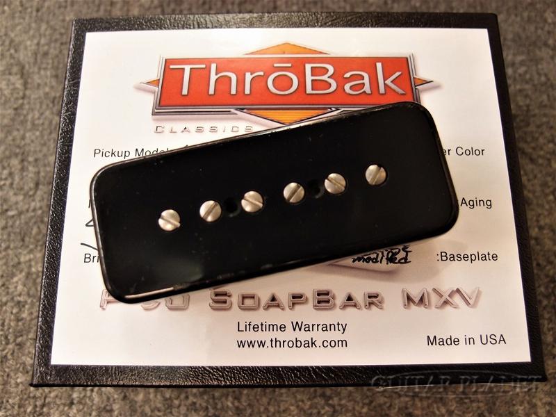ThroBak 55/'56-SB P-90 MXV -Black Aged- 新品[スローバック][ブラック,黒][エイジド][SingleCoil,シングルコイル][Pickup,ピックアップ]