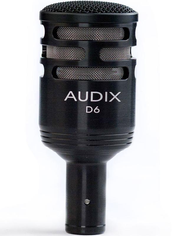 AUDIX D6 新品 パーカッション向けダイナミックマイク [Drums,Percussion,ドラム,打楽器][Dinamic Microphone]