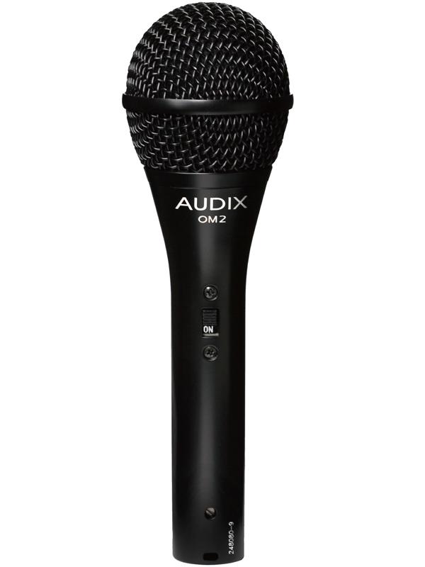 AUDIX OM2S(On/Offスイッチ搭載版) 新品 ダイナミックマイク[Vocal,ボーカル][Dynamic Microphone]