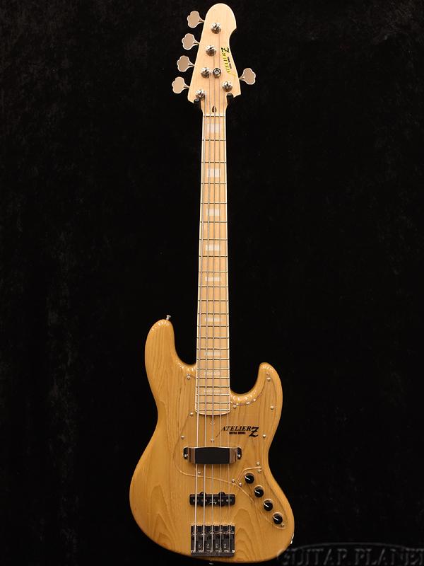 ATELIER Z M#265 -Natural- 新品[アトリエZ][国産,日本製][ナチュラル][5strings,5弦][Jazz Bass,JB,ジャズベース][Electric Bass,エレキベース]