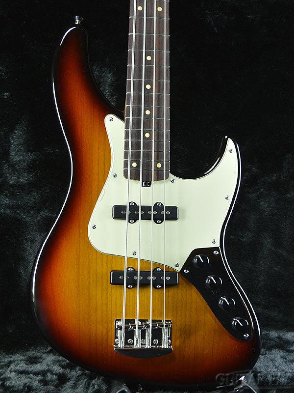 Valenti V24-J4 -3 Tone Sunburst- 新品[ヴァレンティ][3トーンサンバースト][Jazz Bass,JB,ジャズベース][Electric Bass,エレキベース]