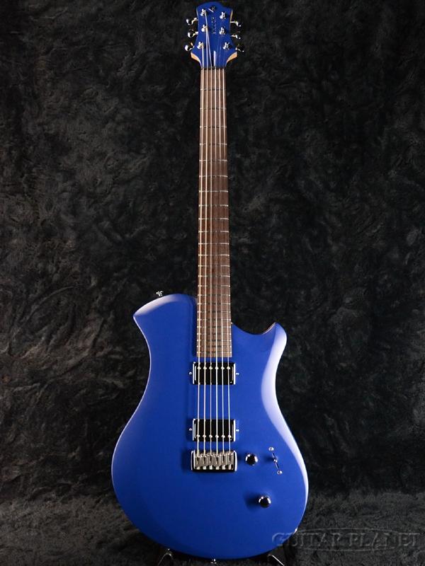 Relish Guitars Marine W Mary -Wood Flame- 新品[レリッシュ][Blue,ブルー,青][Electric Guitar,エレキギター]