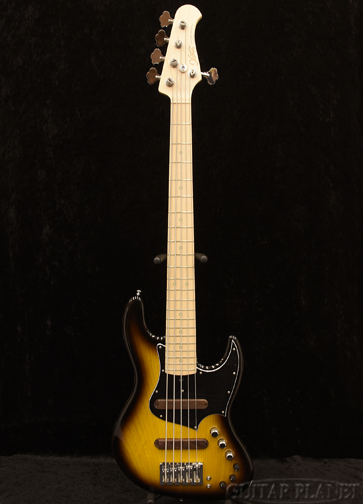 XOTiC XJ-1T 4st -2Tone Sunburst- Ash/Maple 新品[エキゾチック][国産][5strings,5弦][2トーンサンバースト][JB,ジャズベースタイプ][Electric Bass,エレキベース]