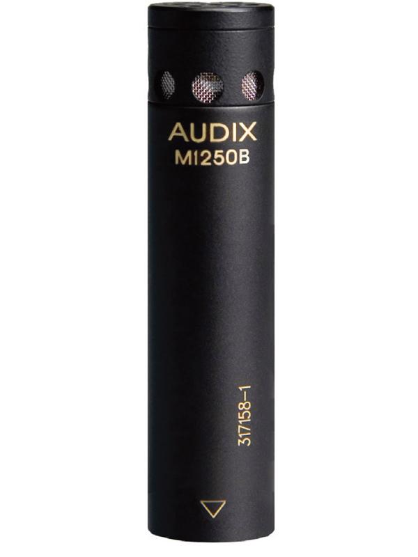 AUDIX M1250B 新品 スピーチ、プレゼンテーション向け コンデンサーマイク[Drums,Cymbal,Percussion,ドラム,パーカッション][Acoustic,アコースティック][Vocal,ボーカル][Microphone]