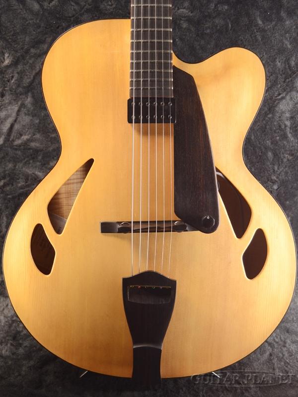 EJIMA ARCHTOP GUITARS 17 Custom Antique Natural 新品[エジマアーチトップギターズ,惠島俊裕][国産][アンティークナチュラル][セミアコ/フルアコ][Electric Guitar,エレキギター]