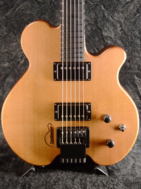 Soulezza Guitars John Abercrombie Signature Model -Natural- 新品[ソウレッツァ][Headless,ヘッドレス][ジョン・アバークロンビー][ナチュラルグロス][Electric Guitar,エレキギター]