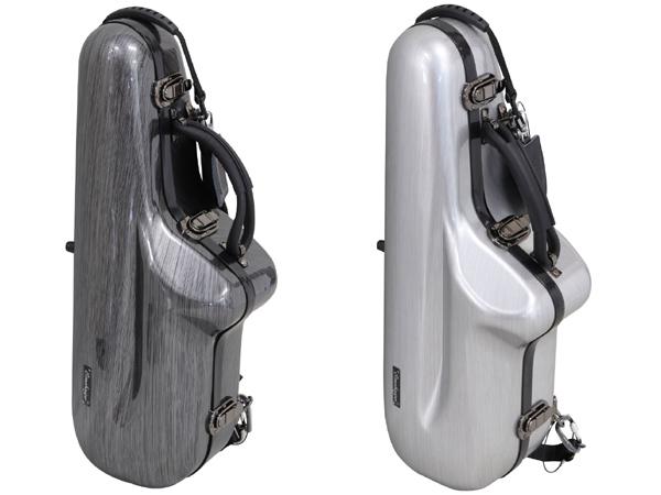 Omebaige AS-SMT 新品 アルトサックスケース[Alto sax][Case,Bag][管楽器][Silver,Grey,シルバー,グレー]