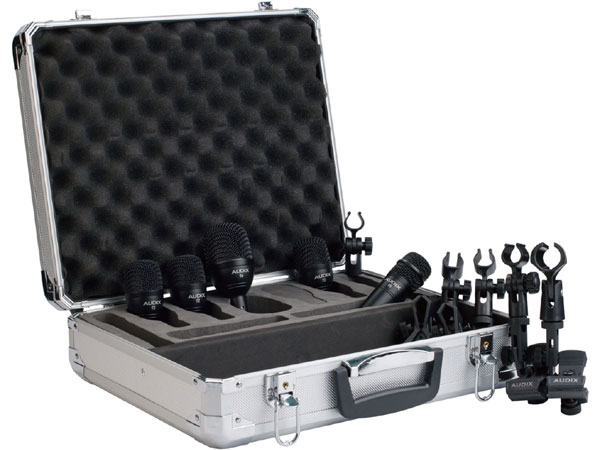 AUDIX FP5 新品 ドラムマイクセット ダイナミックマイク [Drums,Percussion,打楽器][Microphone]