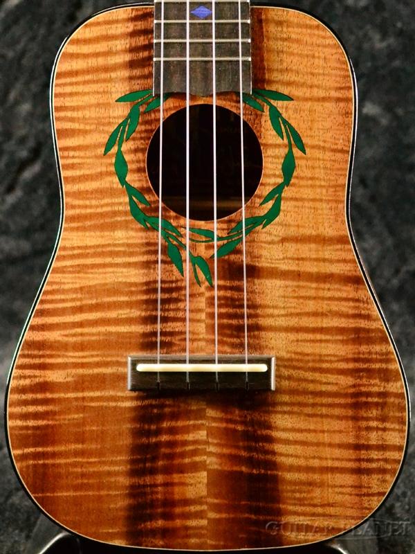 I'iwi Concert Premium Series Custom S3A 新品[イーヴィー][プレミアムシリーズ][Hawaiian Koa,ハワイアンコア][Ukulele,コンサートウクレレ]