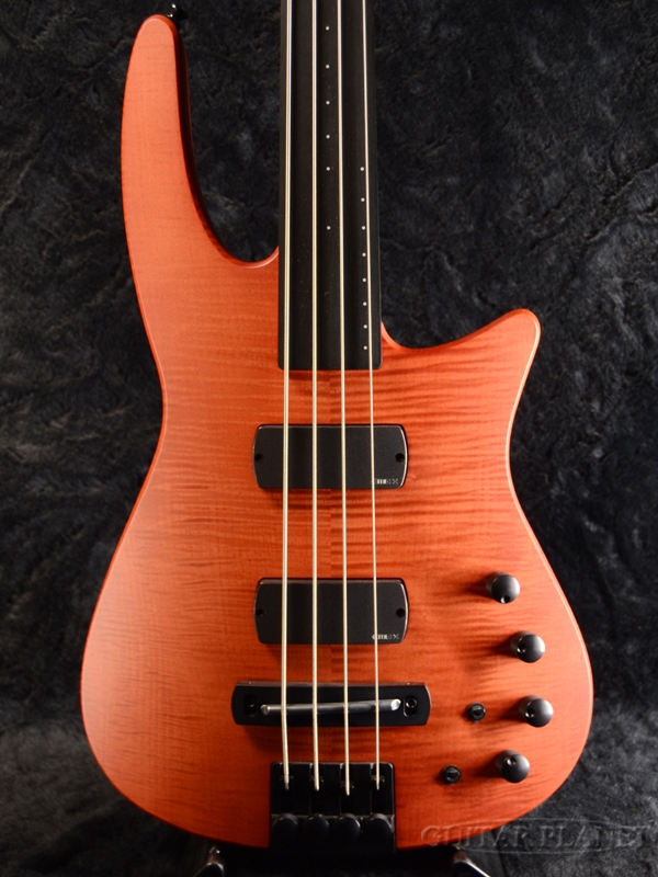 【アウトレット特価】NS DESIGN CR4 RADIUS Bass Fretless-Amber Satin- 新品[Ned Steinberger,NSデザイン][アンバーサテン,茶][ヘッドレス][フレットレス][Electric Bass,エレキベース]