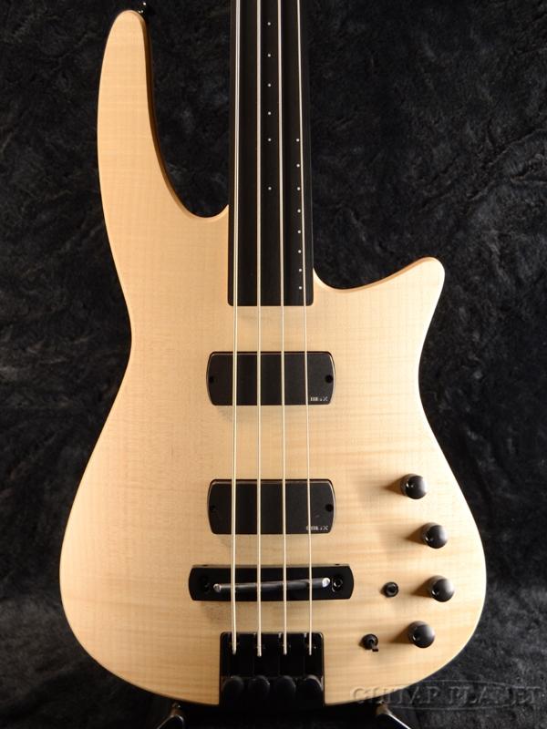 NS DESIGN CR4 RADIUS Bass Fretless -Natutal- 新品[Ned Steinberger,NSデザイン][ナチュラル][ヘッドレス][フレットレス][Electric Bass,エレキベース]
