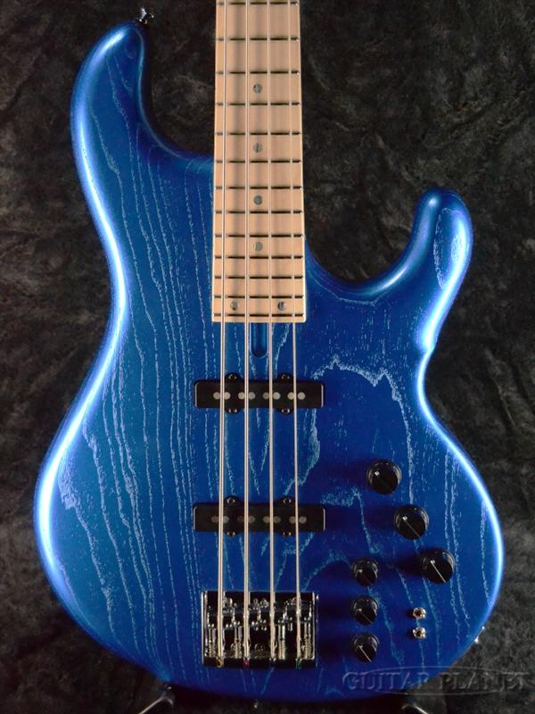 dragonfly d-fly CJ-4 -Metallic Blue on Ash- 新品[ドラゴンフライ][国産][メタリックブルー,青][JB,ジャズベースタイプ][Electric Bass,エレキベース]