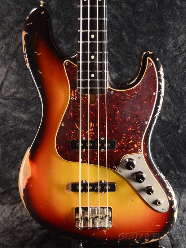 Bluesman Vintage Eldorado -3 Tone Sunburst- 新品[ブルースマン][Jazz Bass,ジャズベース][Relic,Aged,レリック,エイジド][サンバースト][Electric Bass,エレキベース]