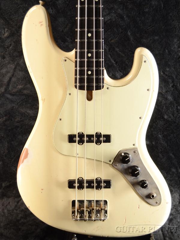 Bluesman Vintage Eldorado -Olympic White- 新品[ブルースマン][Jazz Bass,ジャズベース][Relic,Aged,レリック,エイジド][オリンピックホワイト,白][Electric Bass,エレキベース]