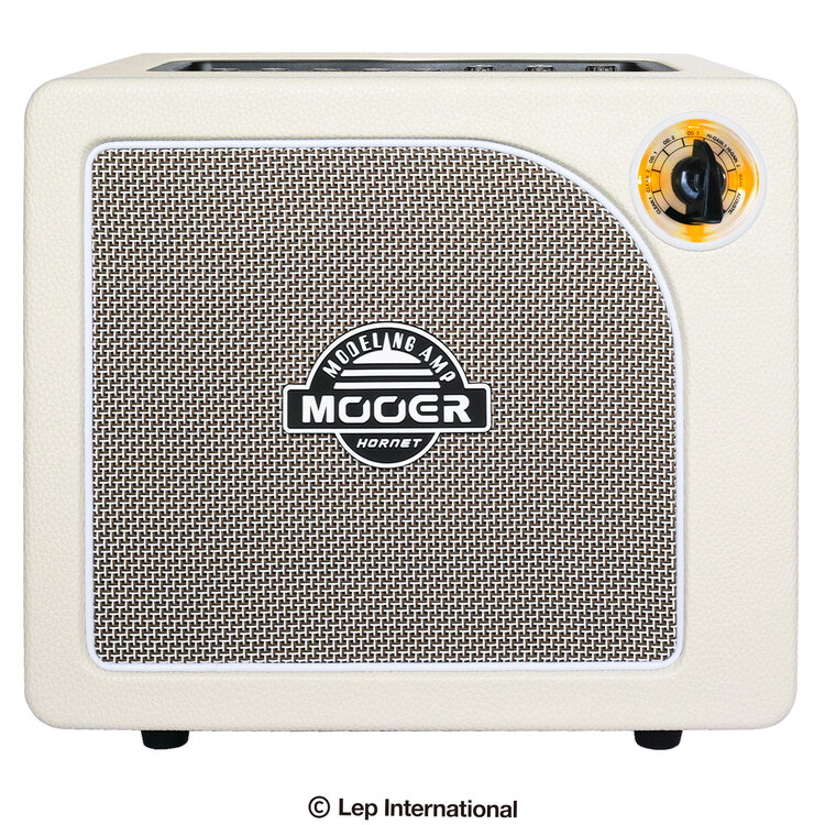 15W Mooer [正規販売店] Hornet White 送料無料カード決済可能 新品 モデリングギターアンプ ムーア コンボ Guitar Combo Amplifier ホーネットホワイト エフェクター内蔵