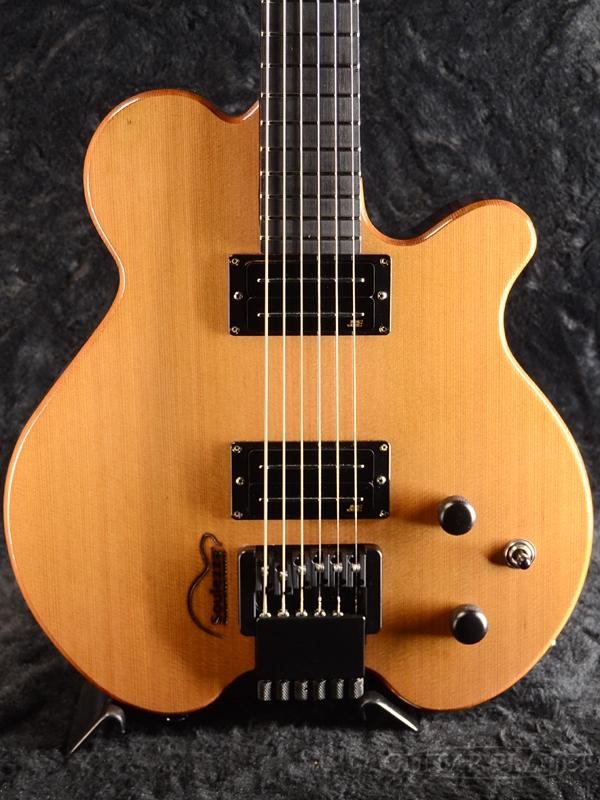Soulezza Guitars Lionel Loueke Signature Model ''Natural Gloss'' 新品[ソウレッツァ][Headless,ヘッドレス][リオーネル・ルエケ][ナチュラルグロス][Electric Guitar,エレキギター]