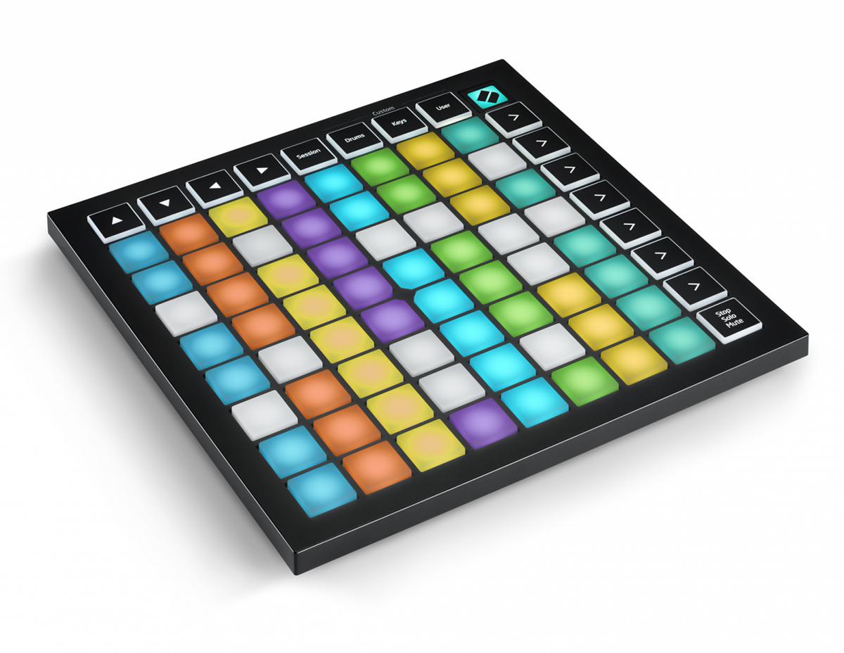 Novation LAUNCH PAD mini MK3 新品 MIDIコントローラー[ノベーション][ランチパッドミニ][エイブルトンライヴ]