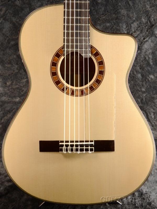 Martinez MP-12 Ziricote 新品[マルティネス][ピックアップ搭載][Classic Guitar,クラシックギター,ガットギター,エレガット]