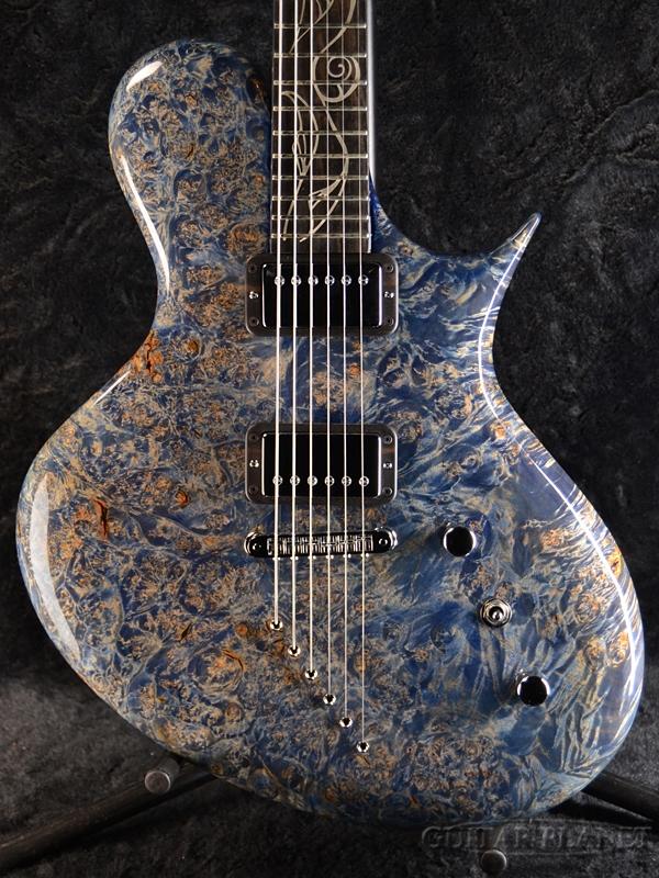 Ritter Porsch -Flying Blue- 新品[リッター][ポルシェ][フライング・ブルー,青][Electric Guitar,エレキギター]