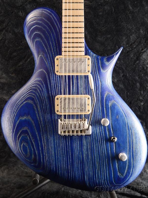 【当店カスタムオーダー品】Ritter Porsch T1 -Sandblasted Blue- 新品[リッター][ポルシェ][ショットブラスト・ブルー,青][Electric Guitar,エレキギター]