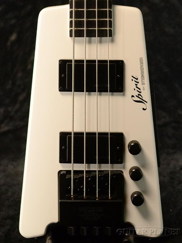 Steinberger Spirit XT-2 Standard Bass -White- 新品[スタインバーガー][スピリット][ホワイト,白][ヘッドレス][Electric Bass,エレキベース][XT2]