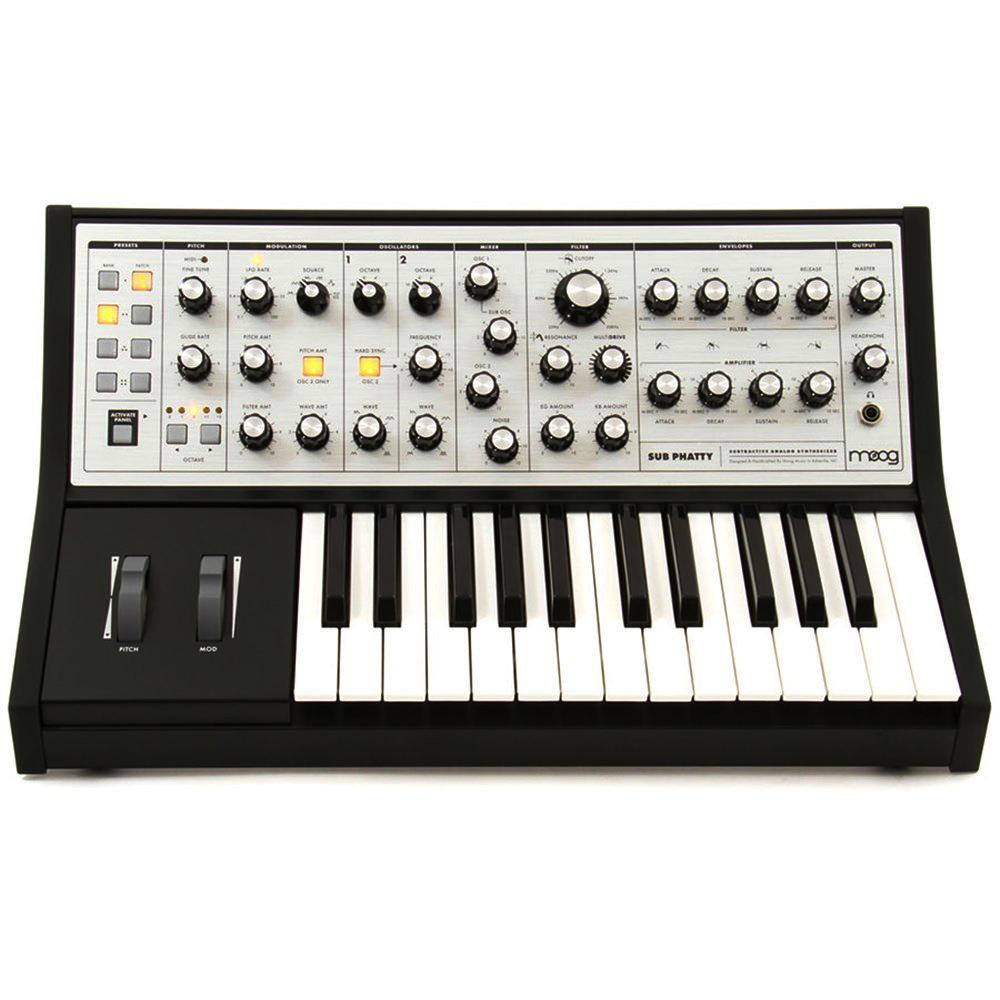 Moog Sub Phatty 新品[モーグ][アナログシンセサイザー,Analog Synthesizer][キーボード,Keyboard,鍵盤]