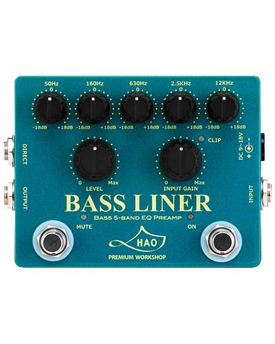 HAO BASS LINER 新品 ベース用プリアンプ [ハオ][ベースライナー][Bass Pre Amplifier][Effector,エフェクター][動画]_otherfx