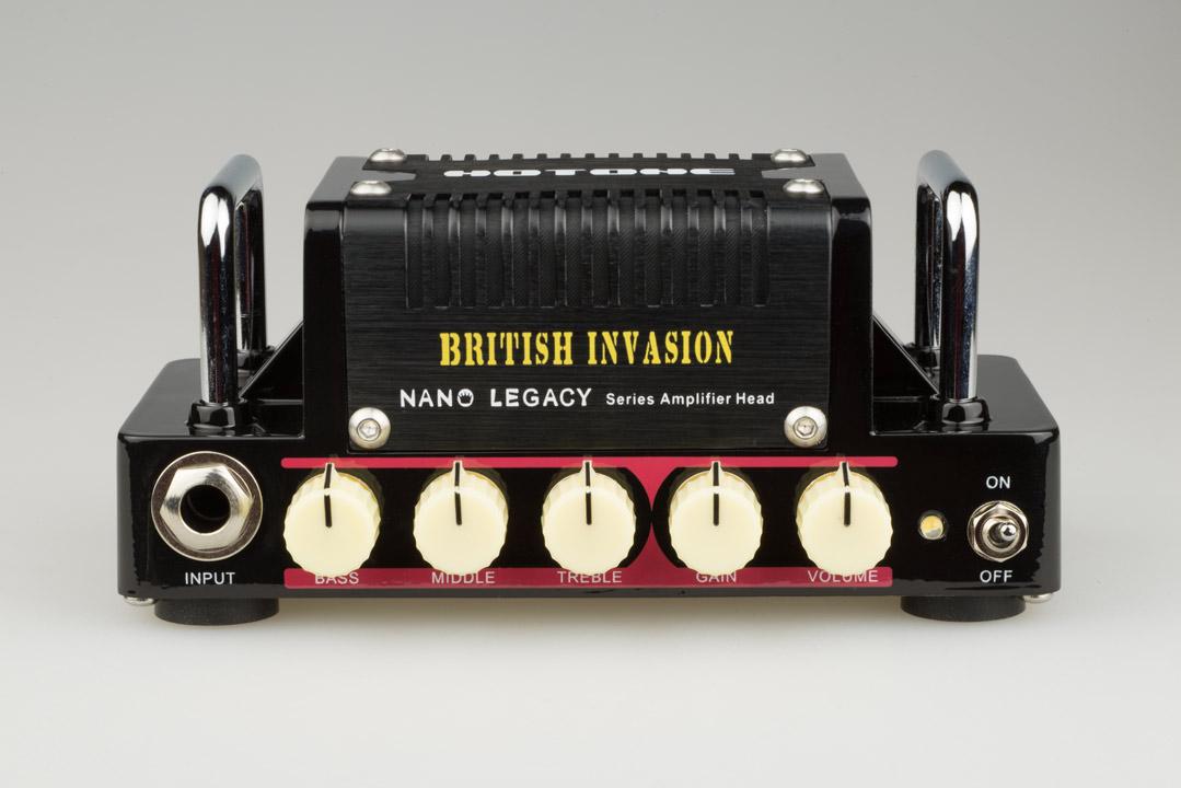 【5W】HOTONE British Invasion 新品 コンパクトギターアンプヘッド[ホットトーン][ブリティッシュインべーション][Guitar Amplifier,Head]