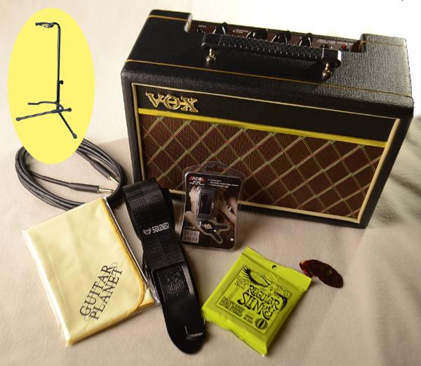 VOXアンプ付 エレキギター入門セット 卸直営 ☆新作入荷☆新品 Accessary アクセサリー Electric Guitar 小物