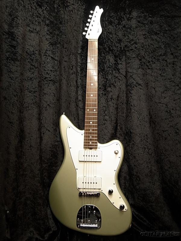 Kino JAM ALD 白緑 Light Green Metalic 新品[キノ][国産][ジャム][ライトグリーンメタリック][Jazzmaster,ジャズマスタータイプ][Electric Guitar,エレキギター]