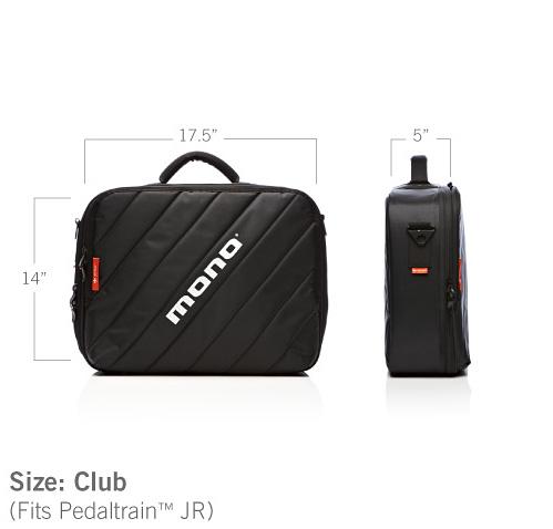 MONO M-80 PB-1 CLUB BLK 新品 エフェクターケース [モノ][クラブ][Black,ブラック,黒][Effector case]