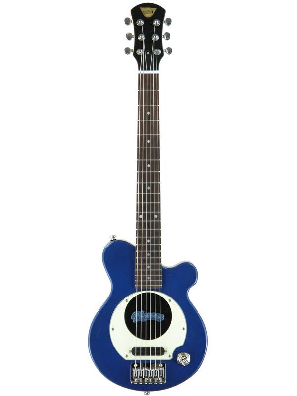 【エレキ4点セット付】Pignose PGG-200 MBL メタリックブルー 新品 アンプ内蔵ギター[ピグノーズ][Metallic Blue,青][ミニギター][Electric Guitar,エレキギター]