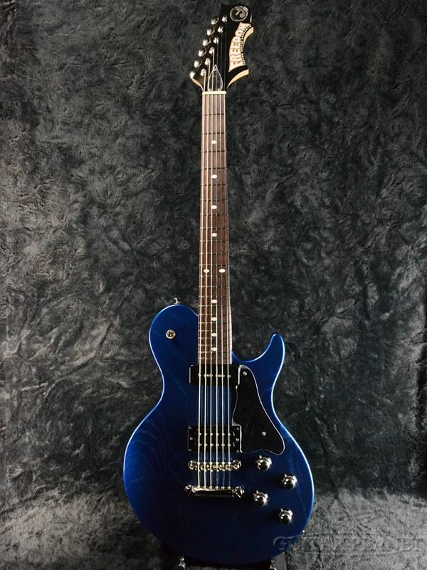 FREEDOM RRS-BRAVERY -半蔵(HNZ)- 新品[フリーダム][国産][RRシリーズ][ブレイブリー][はんぞう,Blue,ブルー,青][Les Paul,レスポールタイプ][エレキギター,Electric Guitar]