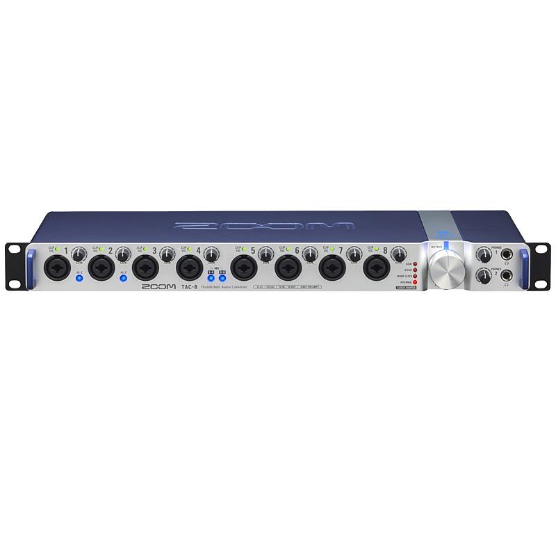 ZOOM TAC-8 Thunderbolt Audio Converter 新品 オーディオインターフェース[ズーム][TAC2][サンダーボルト][オーディオコンバーター][ハイレゾ音源対応]