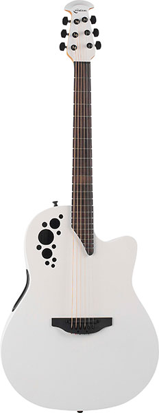 Ovation Elite TX Mid Depth - 1778TX Ivory White 新品 オベーション エリート アイボリーホワイト 白 エレアコ Acoustic Guitar アコギ アコースティックギター Folk Guitar フォーク