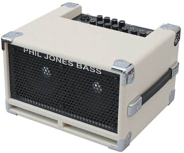 【100W】Phil Jones Bass Bass CUB2 White Tolex 新品 ホワイト[フィルジョーンズ][白][ベースアンプ/コンボ,Bass Combo Amplifier]