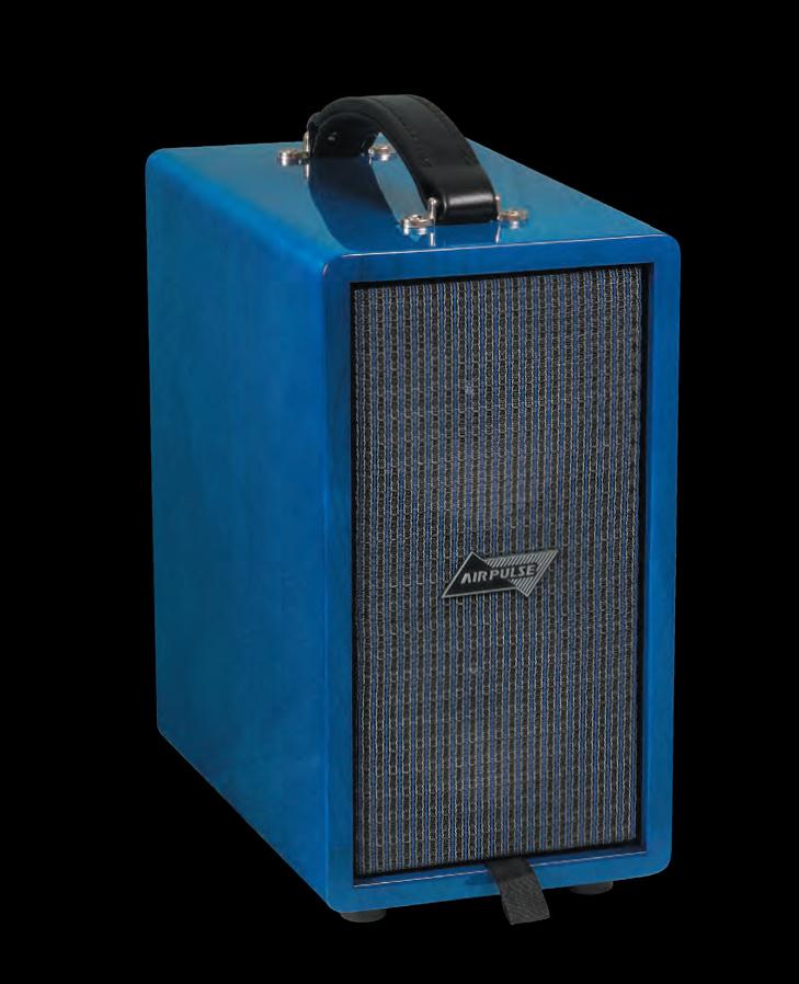 【100W】AIRPULSE by Phil Jones CUB-Custom Trans Blue 新品 専用ギグバッグ付[フィルジョーンズ][トランスブルー,青][アコースティック用アンプ][コンボ,Combo Amplifier]