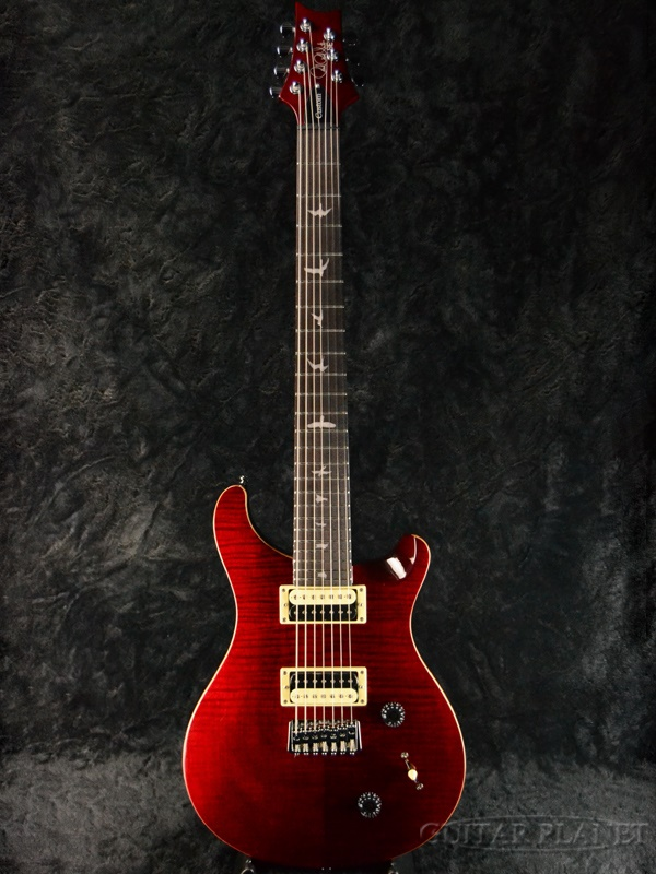 【2018MODEL】Paul Reed Smith SE SVN SEVEN -Black Cherry- 新品[ポールリードスミス,PRS][ブラックチェリー,赤][7strings,7弦][Electric Guitar,エレキギター]