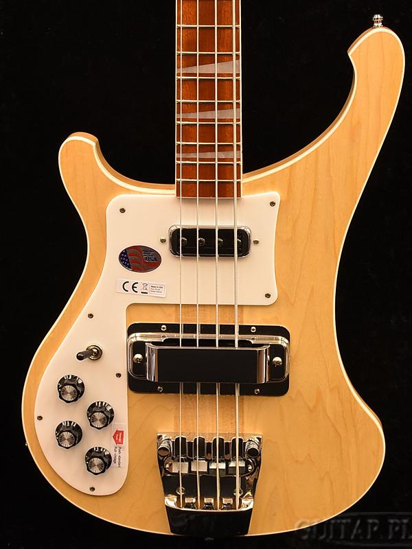 【アウトレット特価】Rickenbacker 4003 LH -Mapleglo- 新品[リッケンバッカー][左用,左利き,レフトハンド,レフティー,Left hand][メイプルグロー,ナチュラル][Electric Bass,エレキベース]