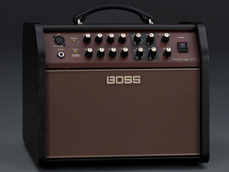 BOSS Acoustic Singer Live LT 新品 Acoustic Amplifier[ボス][Roland,ローランド][アコースティック][Guitar Combo Amplifier]