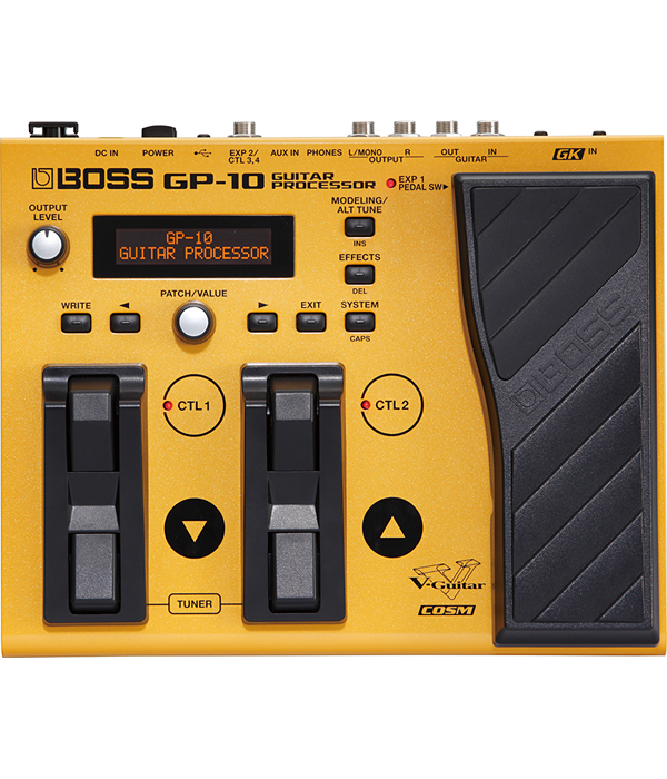 Roland GP-10S Guitar Processor 新品 マルチエフェクター ACアダプター付[ローランド][ギタープロセッサー][Multi][Effector,エフェクター]