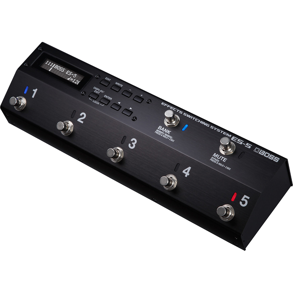BOSS ES-5 Effects Switching System 新品[ボス][エフェクトスイッチングシステム][Effector,エフェクター][ES5]