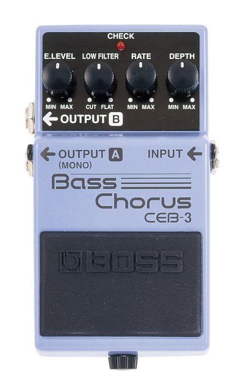 BOSS CEB-3 新品 Bass Chorus[ボス][エフェクター,Effector][コーラス][ベース用]